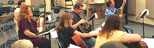 K12 Classroom Guitar - Teacher Development Workshops