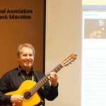 Consonus Music Institute presenting at the National Association for Music Educators workshop on classroom guitar