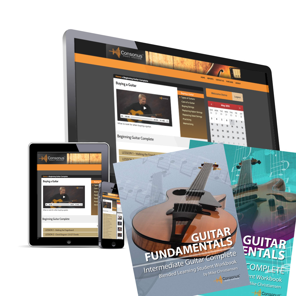 Classroom Guitar Curriculum Bundle