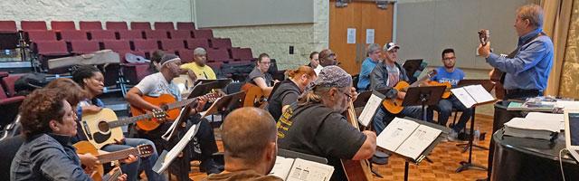 Classroom Guitar Teacher Traning Workshop
