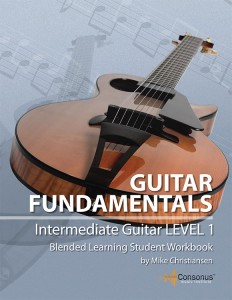 Classroom Guitar Book - Intermediate Level 1 Guitar - Intermediate Guitar - Level 1