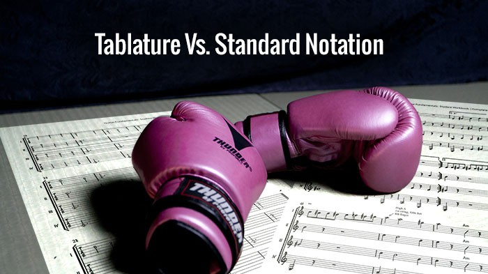 Tablature Vs. Standard Notation
