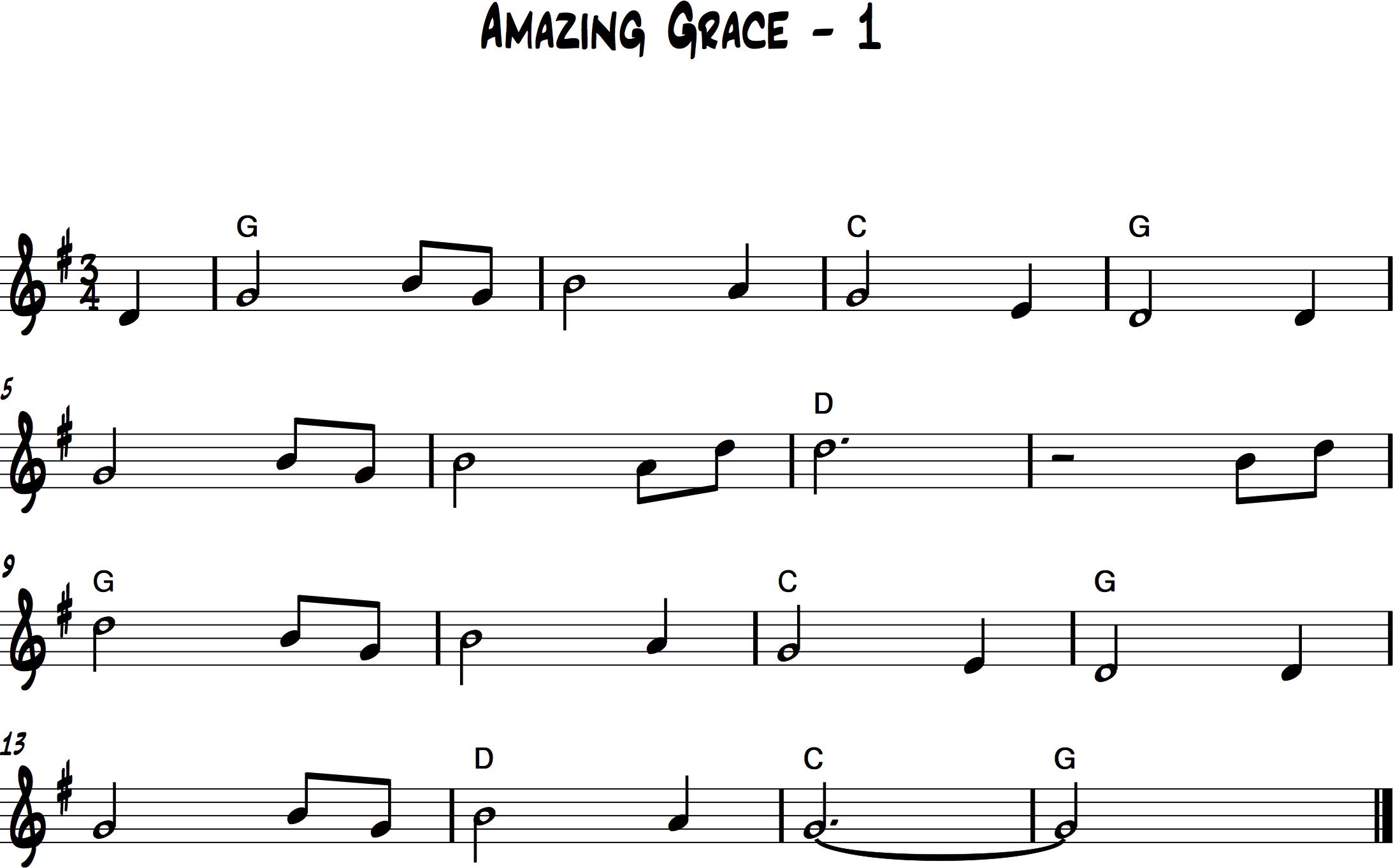 Amazing Grace 1 Consonus Music Institute