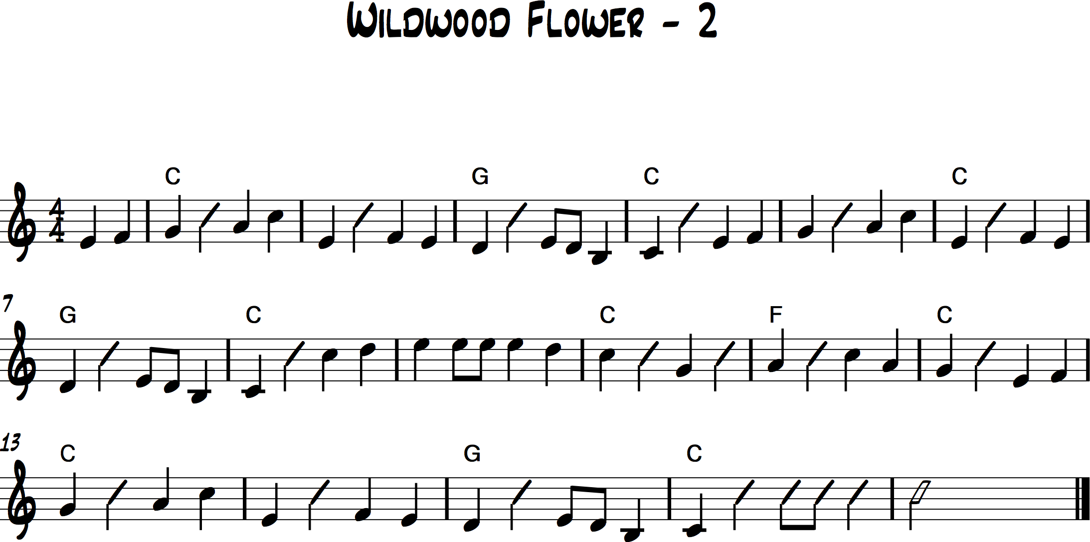 Wildwood Flower 2