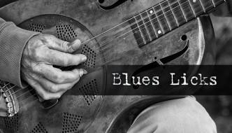 Blues Licks for Classroom Guitar
