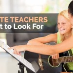 Finding Private Teachers for Guitar by Mike Christiansen