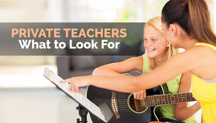 Private Guitar Teachers: What to Look For