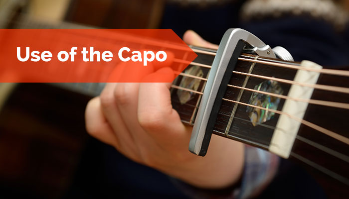 Teaching Classroom Guitar: Use of the capo by Mike Christiansen