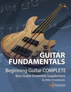 Bass Guitar Ensemble Supplement for Beginning Guitar Complete by Mike Christiansen