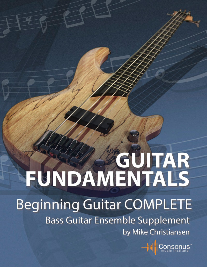 Bass Guitar Ensemble Supplement for Beginning Guitar Complete by Mike Christiansen