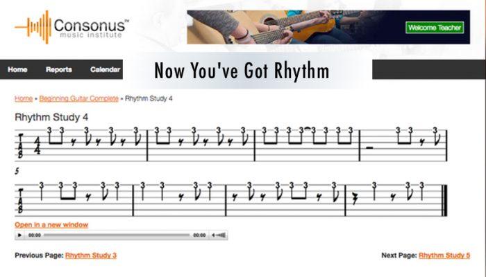 Rhythm Studies Are Here