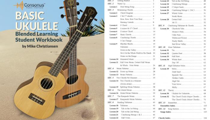 Basic Ukulele – Announcing the Release of a New Consonus Ukulele Method